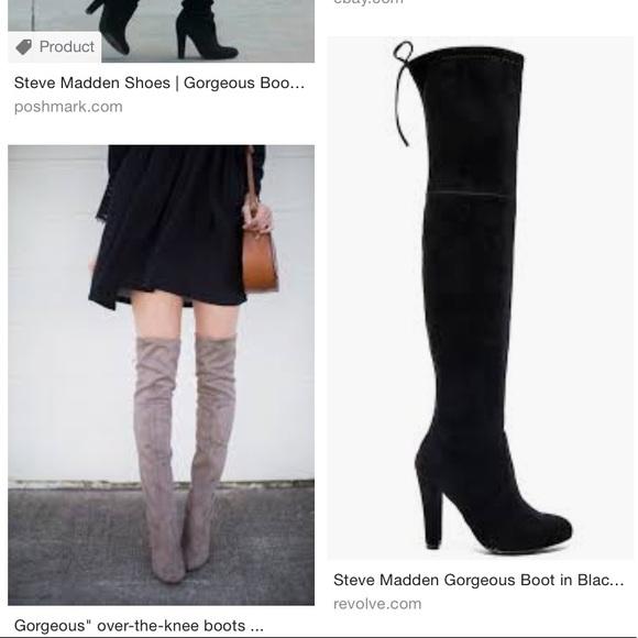 una vez asesinato Malentendido  Steve Madden Shoes | Gorgeous Boot In Black | Poshmark
